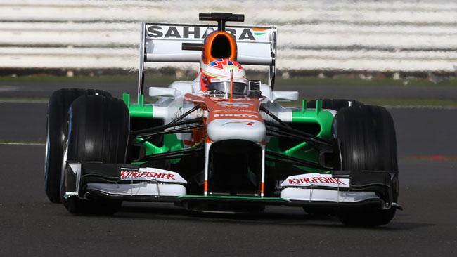 Breve shakedown per la Force India a Silverstone
