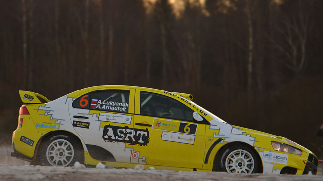 Lettonia, PS7: Lukyanuk si avvicina al terzo posto