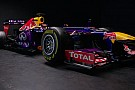 La Red Bull RB9 resta con la sospensione push rod