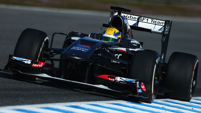 Gutierrez il pilota più attivo nei test di Jerez