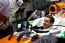 Ecco Adrian Sutil nell'abitacolo della Force India