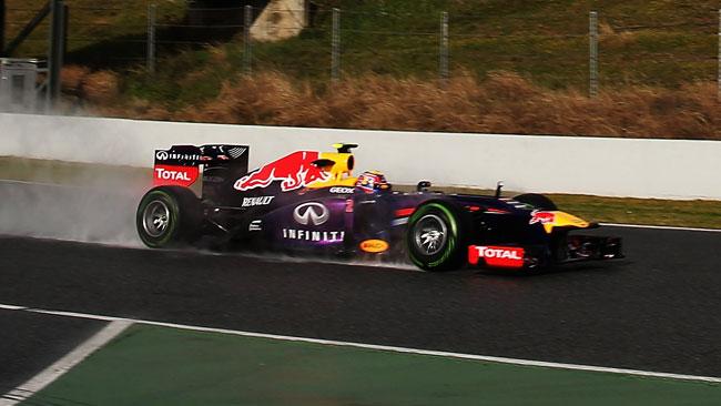Barcellona, Day 1: Webber e la Red Bull in fuga