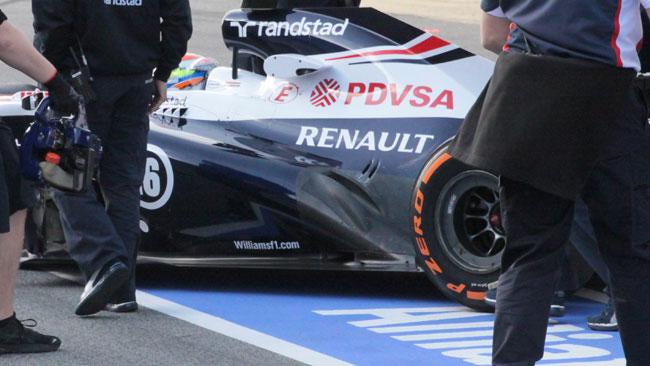 La Williams si converte agli scarichi della Red Bull!