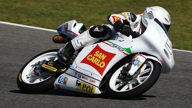 Romano Fenati deluso dal risultato dei test di Jerez