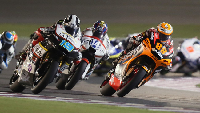 Test limitati anche per Moto2 e Moto3 dal 2014