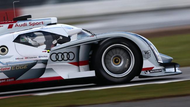 Audi in pista a Monza senza prima variante