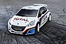 Iniziano i test su asfalto per la Peugeot 208 T16