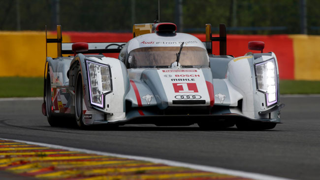 Dominio Audi nelle qualifiche di Spa-Francorchamps