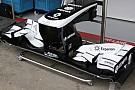 La Williams inclina l'upper flap dell'ala anteriore