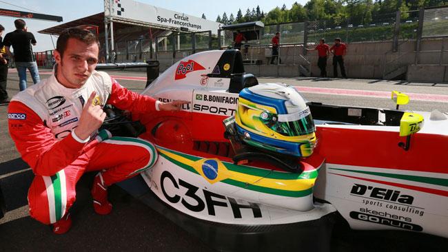 Prima fila tutta Prema a Spa-Francorchamps