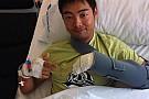 Intervento ok alla mano sinistra per Hiroshi Aoyama