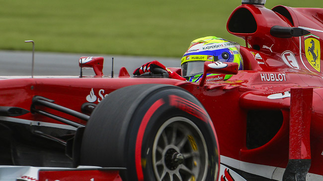 Massa vede la Ferrari F138 adatta a Silverstone