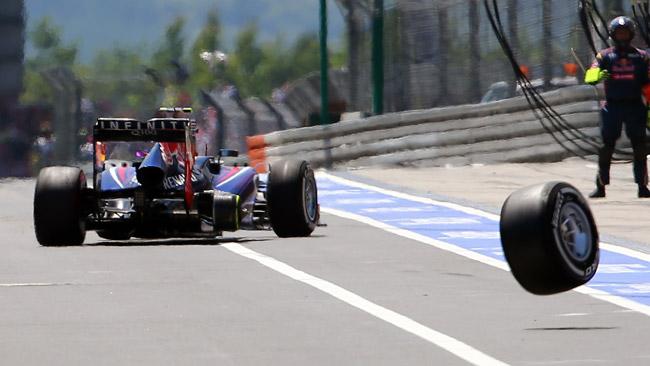 La Red Bull cambia la sua procedura di pit stop