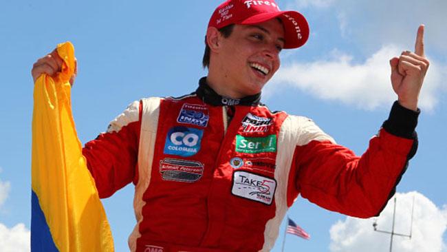 Gabby Chaves dalla pole alla vittoria a Mid-Ohio
