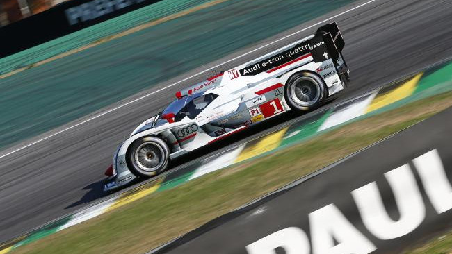 Fassler e Treluyer portano l'Audi in pole a Interlagos