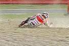 Silverstone, Warm-Up: Marquez cade, la spalla è ko?