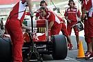 Ferrari a Barcellona ma senza gomme 2014