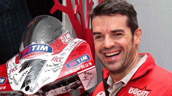 Checa ha detto addio alle corse, ma non alla Ducati