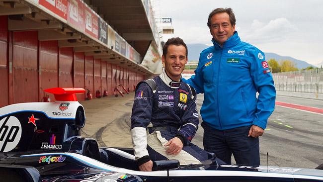 Pol Espargaro prova la F. Renault 3.5 e sbatte!
