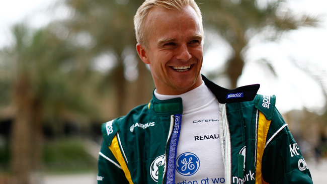 C'è Kovalainen sulla Lotus di Raikkonen?