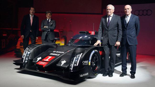 Presentata ufficialmente l'Audi R18 e-tron quattro 2014