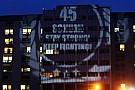 Un messaggio luminoso per Schumi a Grenoble