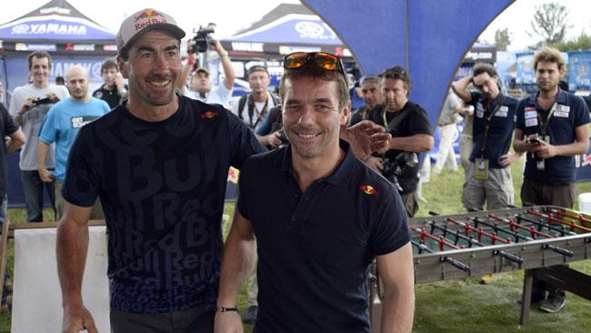 Dakar: al bivacco di Salta è arrivato Sebastien Loeb