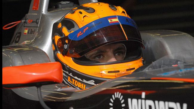 Alex Toril nell'Europeo F3 con la T-Sport