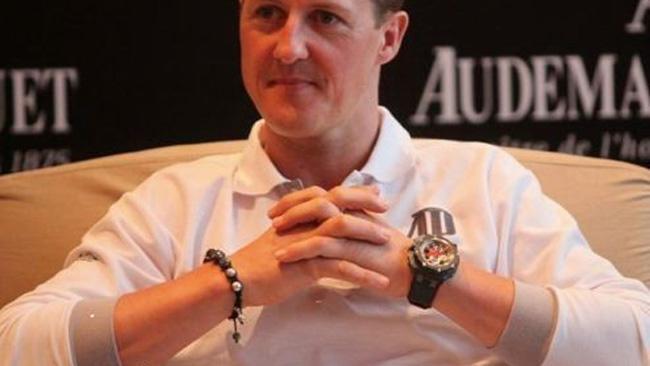 Schumacher: ritrovato il suo braccialetto nella neve!