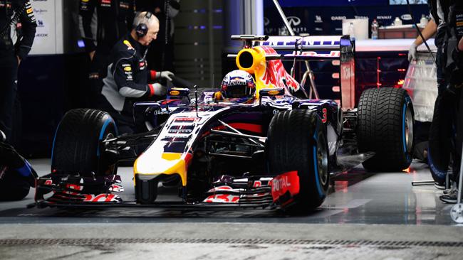 Red Bull Racing prepara una RB10 intermedia