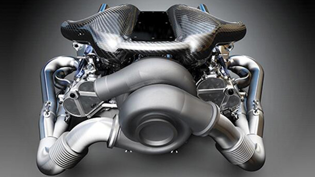 C'è anche un motore V6 Turbo della Cosworth