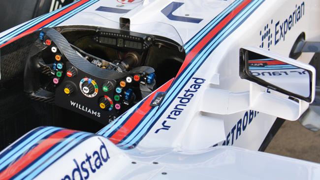 La Williams ancora senza display LCD sul volante