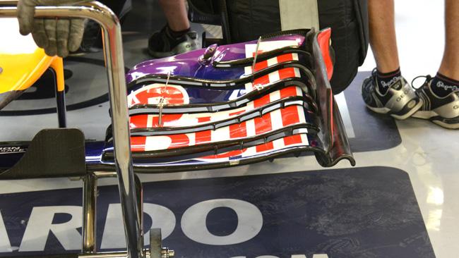 La Red Bull scarica le ali: niente upper flap