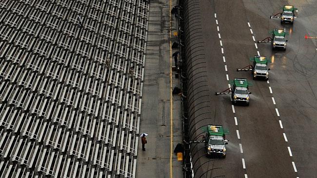 Rinviata per pioggia la gara del Texas Speedway