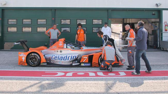 Celadrin MRS Corse al lavoro in pista a Misano