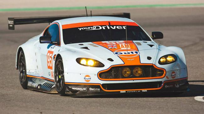 Le Aston Martin vengono alzate, ma perdono peso