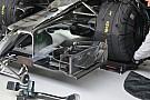 McLaren: doppio flap incurvato sull'ala davanti