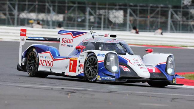 Toyota in pole a Silverstone davanti ad Audi e Porsche