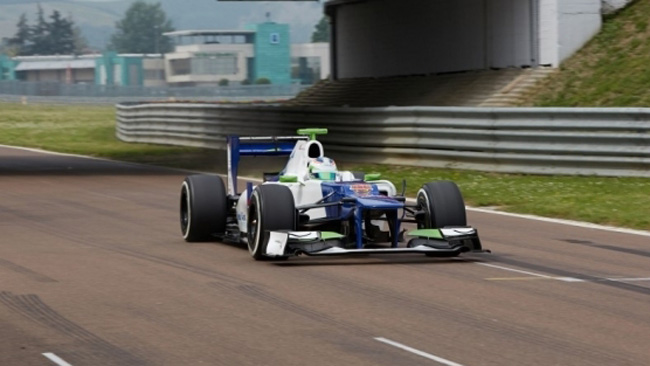 La De Silvestro convince sulla Sauber C31 a Fiorano