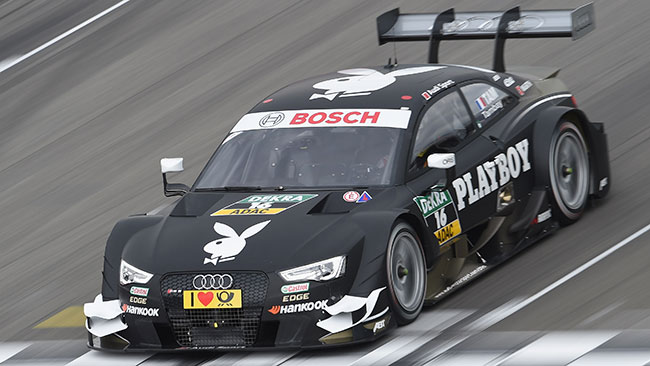 Adrien Tambay porta l'Audi in pole a Hockenheim