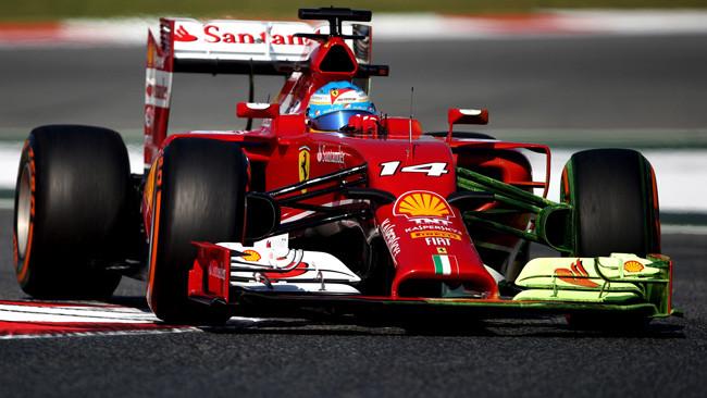 Ferrari: prove aerodinamiche sulla F14 T