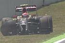 Barcellona, Q1: Maldonado sbatte ed è eliminato