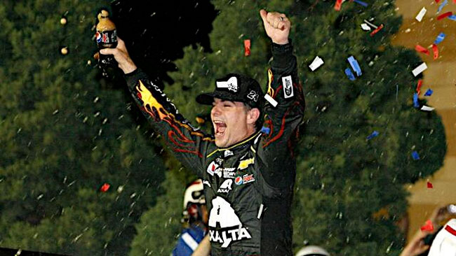 Prima vittoria stagionale per il leader Jeff Gordon