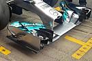 Mercedes: si spostano le zavorre sulla W05 Hybrid