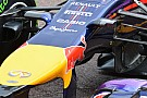 Red Bull: telecamere esterne e turning vanes uniti