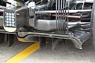 La McLaren modifica la sospensione a tapparella