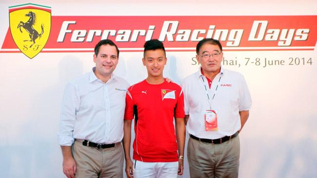 Guanyu Zhou: un cinese nella Ferrari Driver Academy