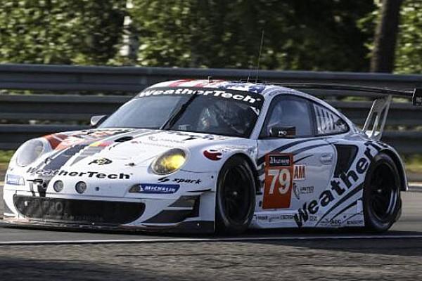 La Porsche della ProSpeed al via con due soli piloti!