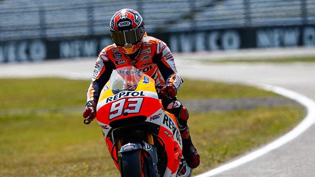 Assen, Libere 4: Marquez abbassa ancora il record