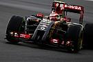 Maldonado in coda, le Ferrari avanzano!